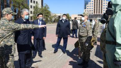 Photo of Қасым-Жомарт Тоқаев карантиндегі Нұр-Сұлтанды аралады