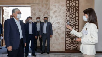 Photo of Мемлекет басшысы Түркістан қаласындағы «Сапар орталығының» жұмысымен танысты