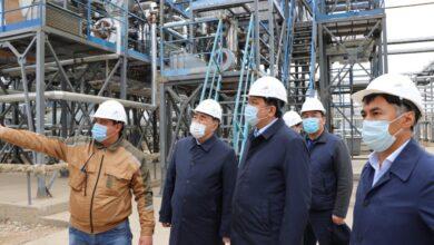 Photo of Нұрлан Ноғаев мұнай-газ-химия объектілеріне барды