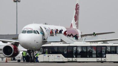 Photo of Алматы әуежайында халықаралық рейстермен жолаушылардың келу ережелері түсіндірілді