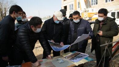 Photo of Бердібек Сапарбаев әлеуметтік нысандардың құрылыс барысымен танысты