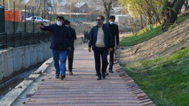 Photo of Б. Сағынтаев Медеу ауданындағы абаттандыру жұмыстарының қарқынын тексерді