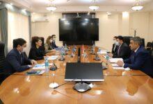 Photo of Министр Аида Балаева Түркия телерадиокомпаниясының өкілдерімен кездесті