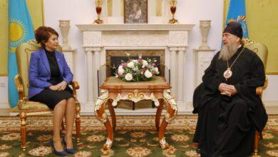Photo of Аида Балаева Астана және Қазақстан Митрополиті Александрмен кездесті