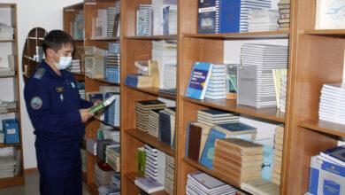 Photo of Әскери жоғары оқу орнында мемлекеттік тілде оқытуға басымдық берілуде